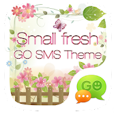 GO SMS PRO SMALL FRESH THEME