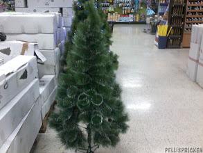 """Photo: Julsaker! Här finns plastgranar som ser """"normala"""" ut och sedan dessa......"""