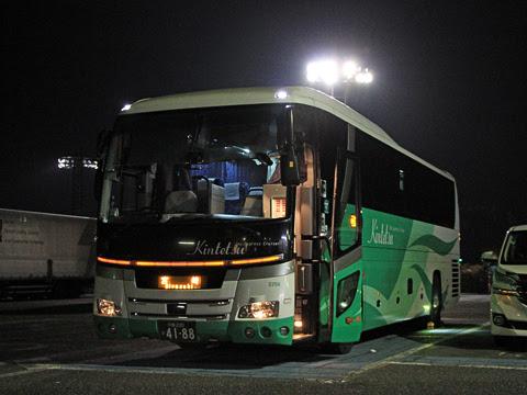近鉄バス「ひなたライナー」 2256 龍野西SAにて