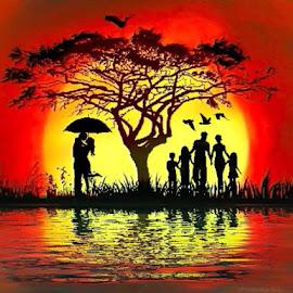 by Sambit Bandyopadhyay - Digital Art People (  )