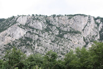 Photo: Day 83 - The Opposite Bank's Cliffs (Romania)