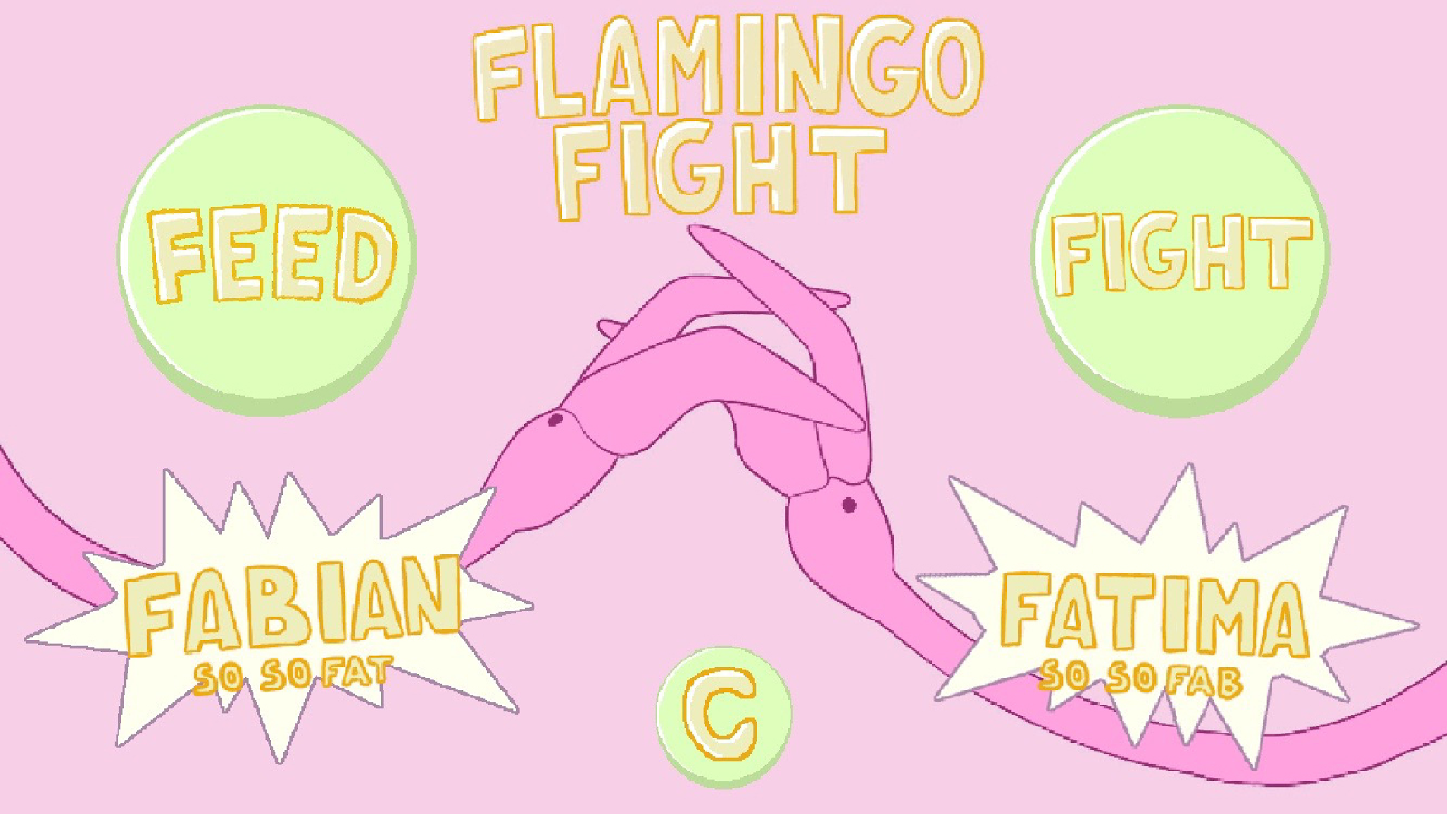 FlamingoFight- screenshot