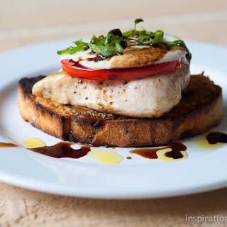 Chicken Caprese Sandwich with Roasted Garlic Recipe