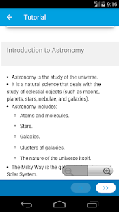 Learn Astronomy- screenshot thumbnail