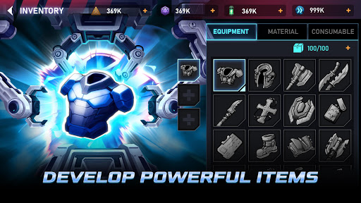 Cyber Fighters: Legends Of Shadow Battle apkpoly screenshots 5