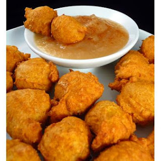 Pumpkin Curry Fritters
