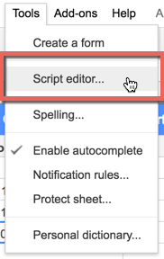 Pulling Google Analytics Data in Sheets with Google Apps Script to