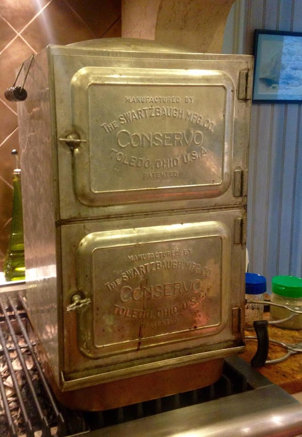 Process for 15 minutes in water bath. (I'm using my vintage Conservo, made in...