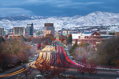 Boise, ID Skyline