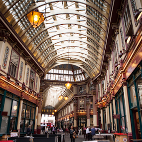 Leadenhall Market by Anz Defensor - Buildings & Architecture Other Interior