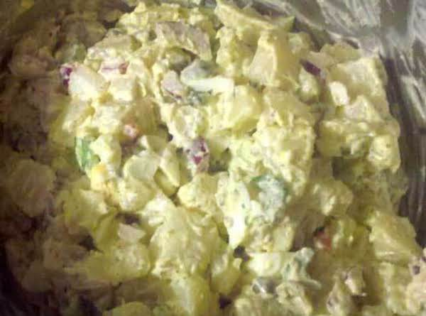 Creamy Potato Salad (mobile Pic, Sorry About The Quality!)