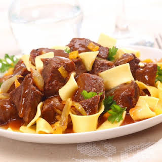 Real Slow Cooker Hungarian Goulash.