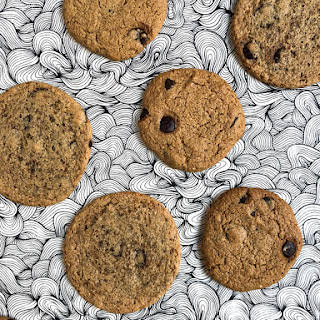 Chewy Gluten Free Chocolate Chip Cookies.