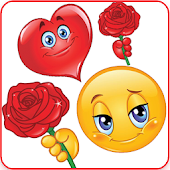 Rose Day Love Stickers