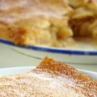 Old Fashioned Apple Tart.