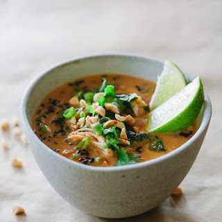 Thai Chicken and Rice Soup.