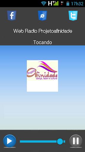 Web Radio Projeto Afinidade