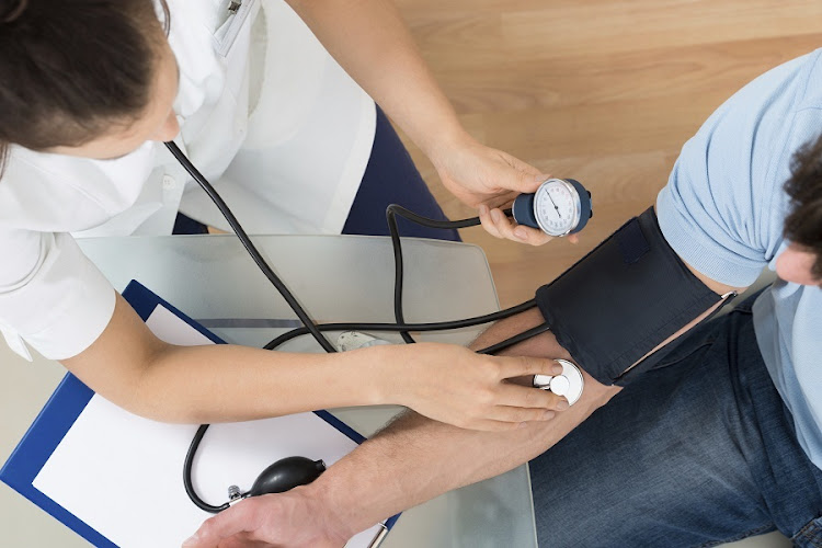 Healthcare costs decreased 0.2% last month, matching July's drop, as prices for doctor and hospital services fell. Picture: iSTOCK
