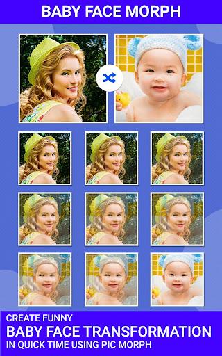 Pic Morph - Morph Faces 1.2 screenshots 4
