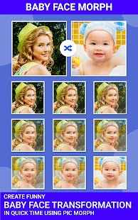 Pic Morph - Morph Faces- screenshot thumbnail