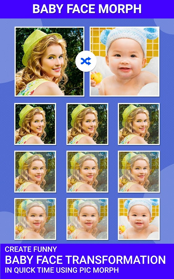 Pic Morph - Morph Faces- screenshot