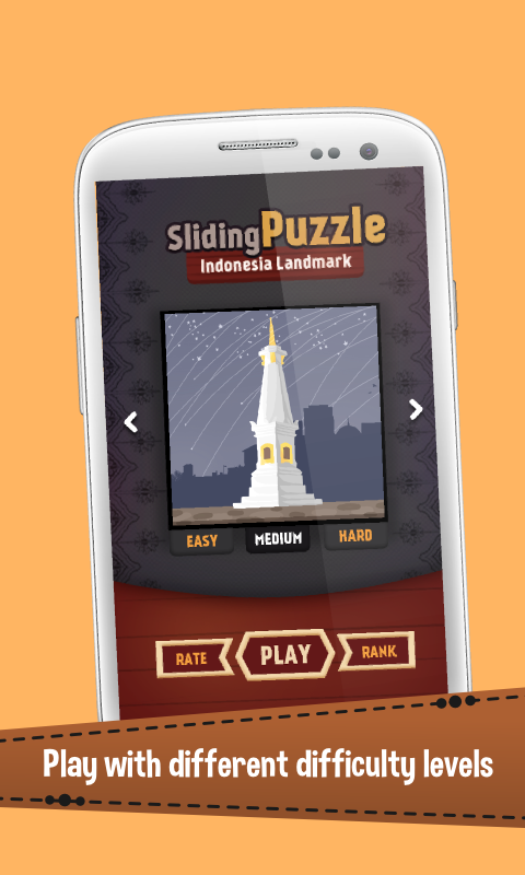 Скриншот Puzzle Landmark Indonesia