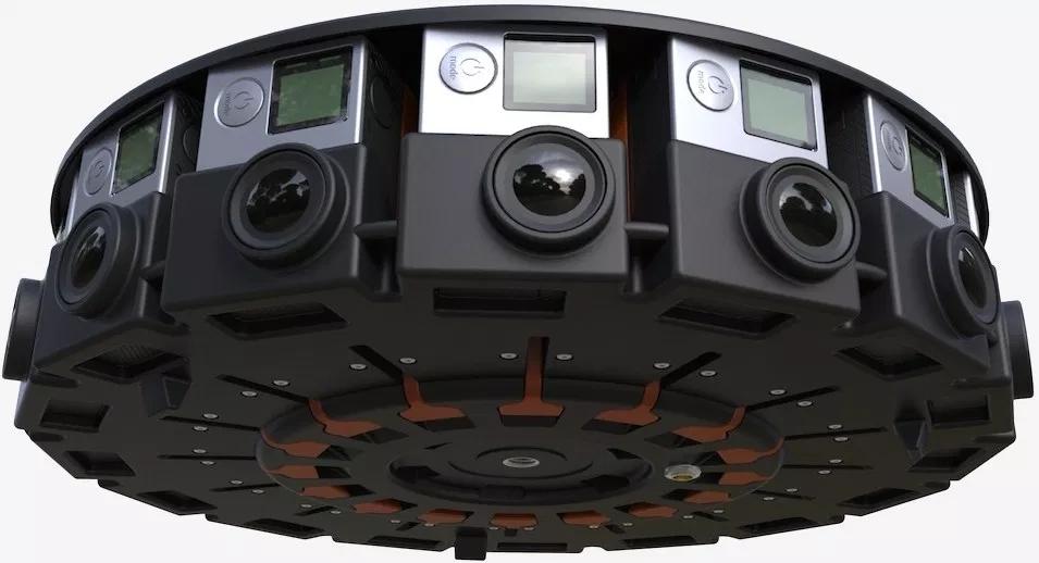Máy ảnh VR GoPro Odyssey với 16 ống kính xung quanh