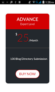 Blog Submission Service- screenshot thumbnail