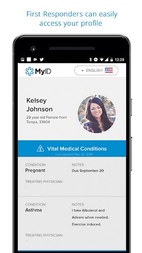 Image of MyID u2013 Medical ID Profile 5.2.0 1
