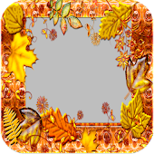 Autumn Leaves Photo Frames