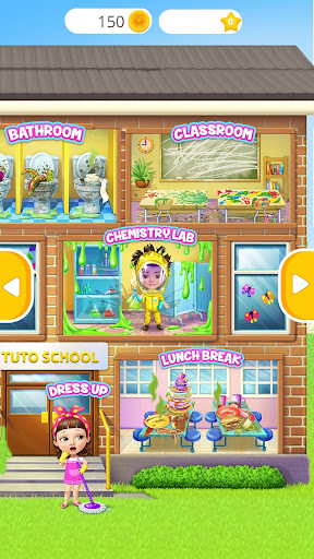 Sweet Baby Girl Cleanup 6 - School Cleaning Game 4.0.20001 screenshots 1