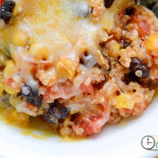 Crockpot Enchilada Quinoa.