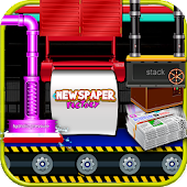 Newspaper Factory - Paper maker & delivery game