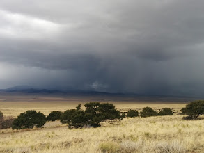Photo: The next day some storms started cranking up in the afternoon. VVHS is a great place to watch storms!