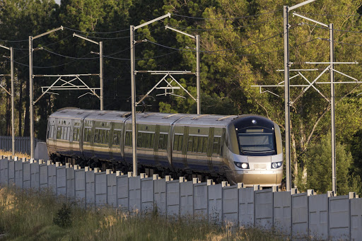 File photo of the Gautrain