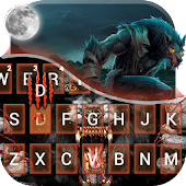 Werewolf Beast Keyboard Theme