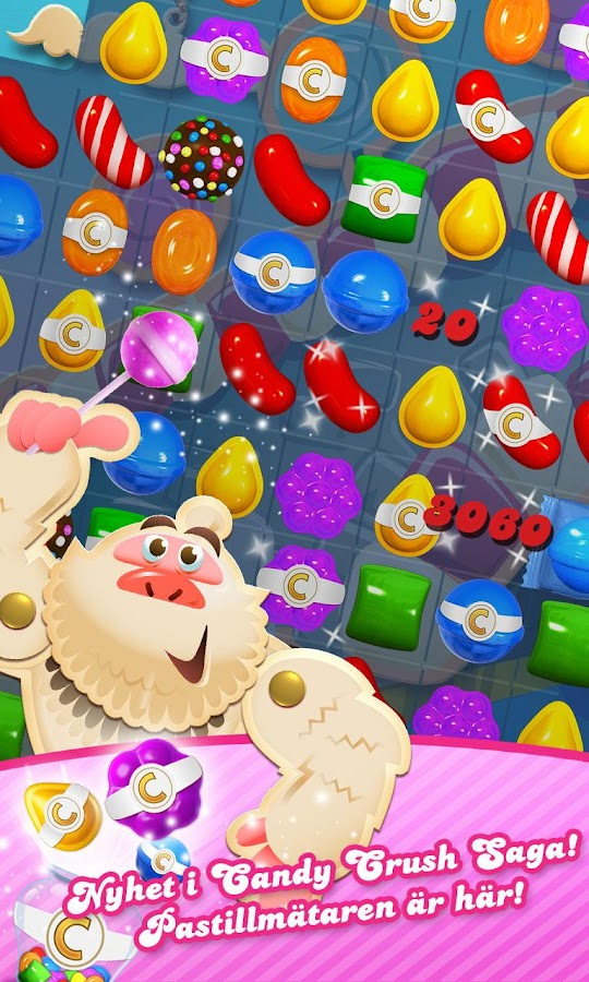 Candy Crush Saga– skärmdump