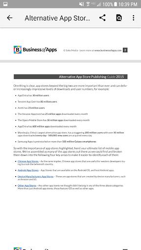 N Docs - Office, Pdf, Text, Markup, Ebook Viewer  screenshots 5