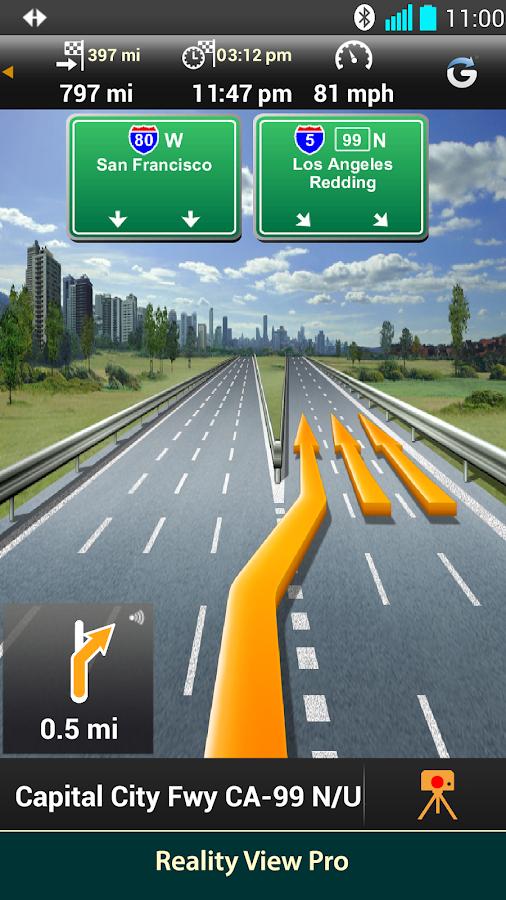 NAVIGON North America - screenshot