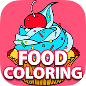 Free Fun Coloring Book - FOOD Android APK Download Free By Imagine Apps Limited
