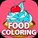 Free Fun Coloring Book - FOOD
