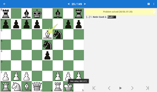 Chess Tactics for Beginners- screenshot thumbnail