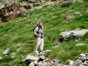 Photo: Richar estudia el paso.