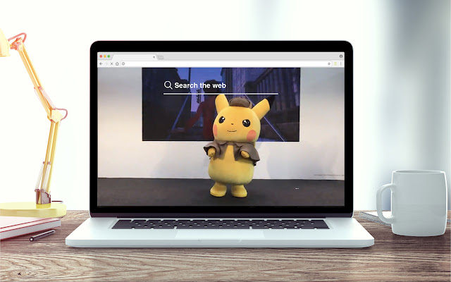 Detective Pikachu HD Wallpapers Tab Theme