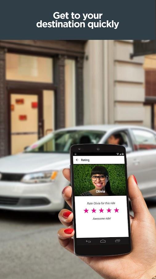 Lyft - Taxi & Bus Alternative- screenshot