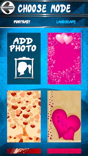 Romantic Greeting Card Maker  screenshots 2