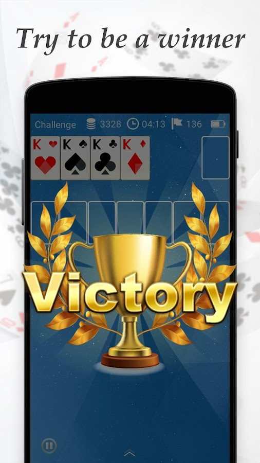 Solitaire+- screenshot