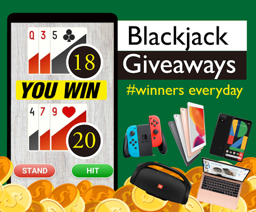 Blackjack giveaways - free gift winners every day apkpoly screenshots 1
