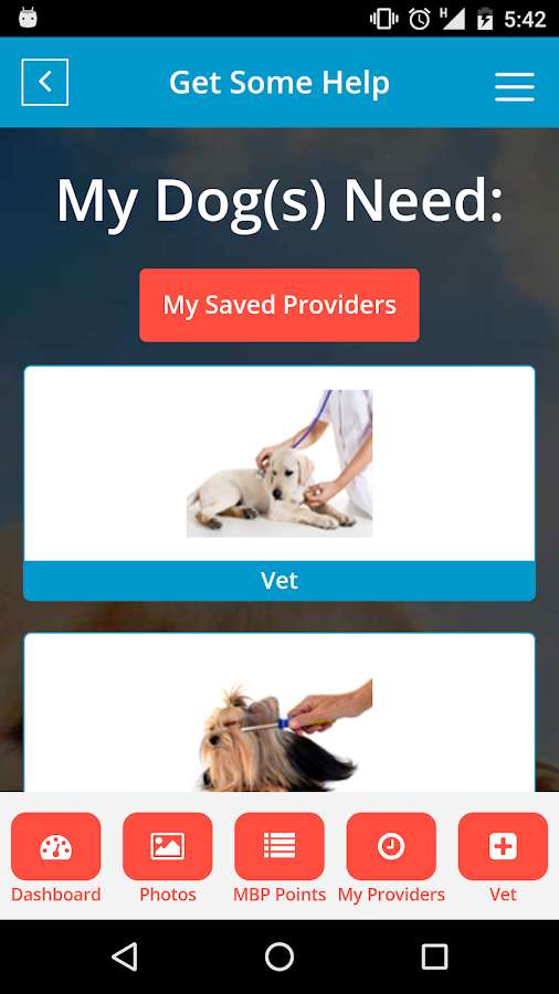 Hydrant-Complete Dog Care Tool- screenshot