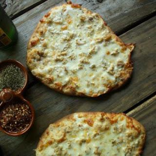 White Clam Flatbread Pizza.